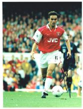 Marc Overmars Autograph Signed Photo - Arsenal